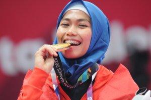 Atlet Indonesia Peraih Medali Emas Asian Games 2018, Defia Rosmaniar
