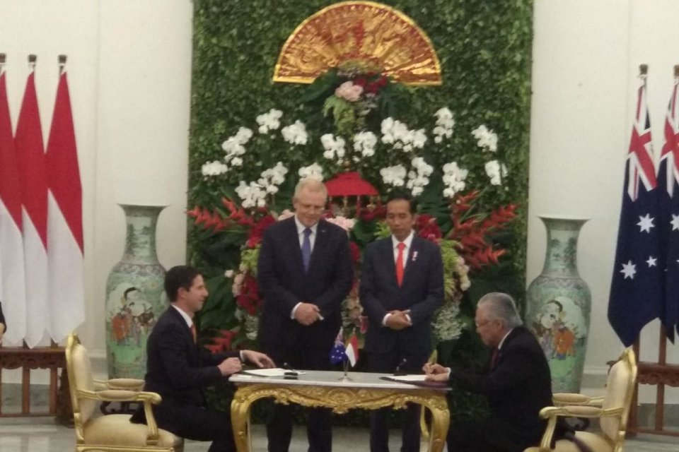 Indonesia dan Australia menyelesaikan subtansi perjanjian CEPA