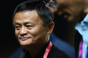Jack Ma di Palembang