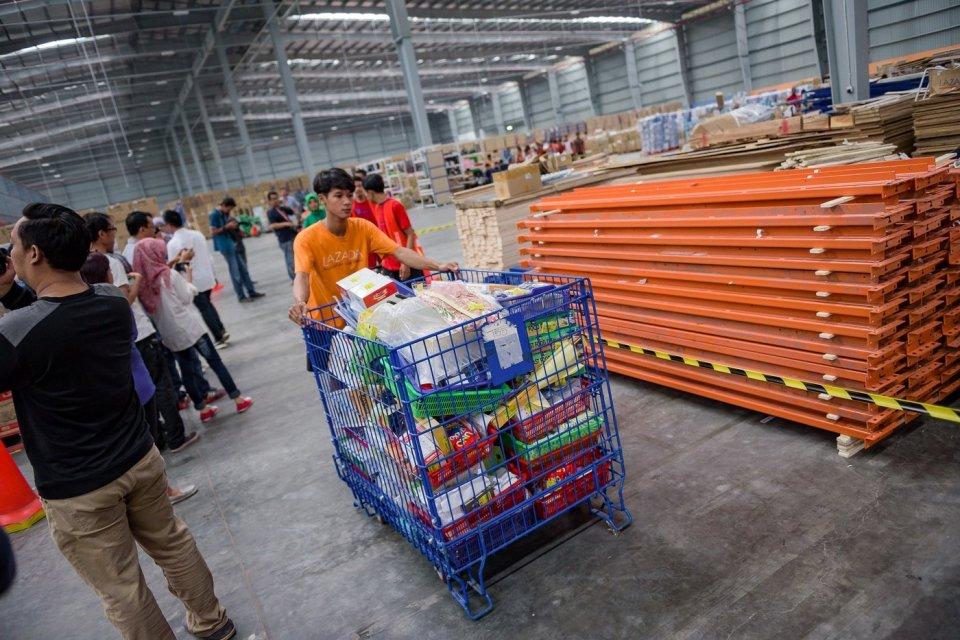 UMKM, agen logistik, Lion Parcel