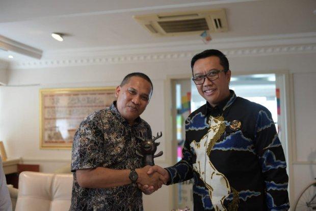 Menpora dan Pemda Lombok