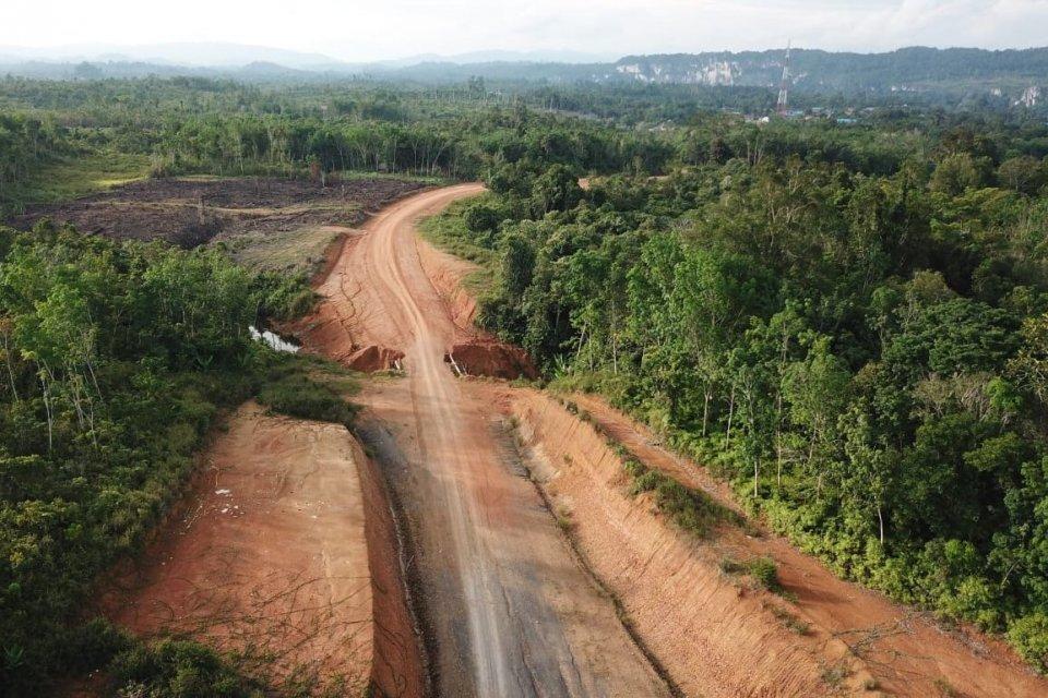 Jalan Perbatasan Tering-Long Bagun, Kalimantan Timur