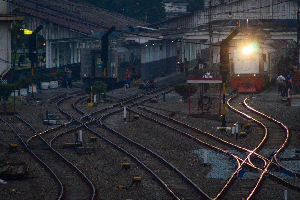 mudik lebaran 2019, kereta api, jumlah penumpang kereta