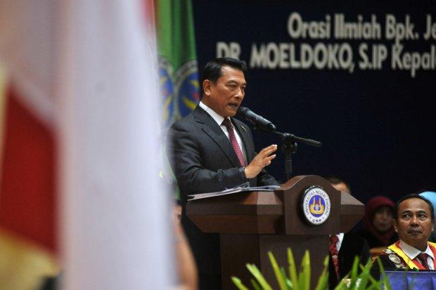 Kepala Staf Kepresidenan, Moeldoko, kebebasan berekspresi dibatasi, jokowi