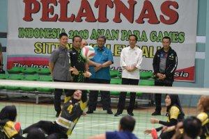 Jokowi Asian Para Games