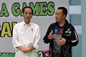 Jokowi dan Menpora