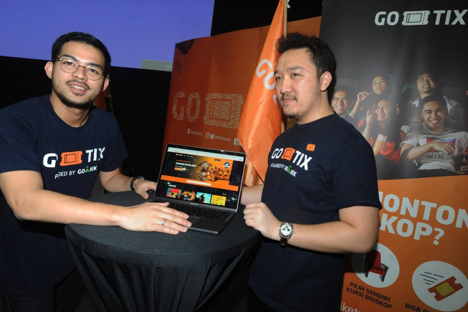 Launching Layanan GoTix