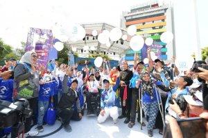 Doa untuk Sulawesi Tengah dari Arena Kirab Obor APG