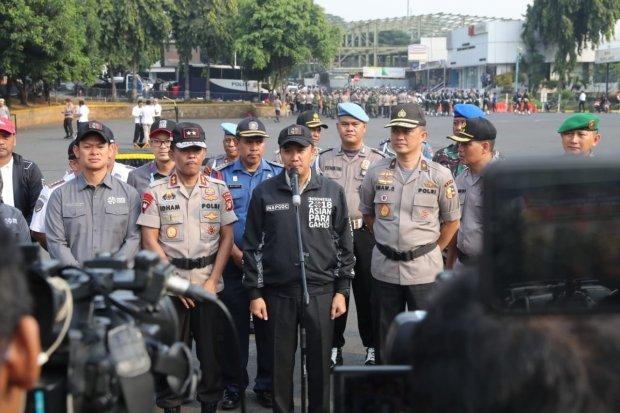 Kemenpora dan aparat keamanan