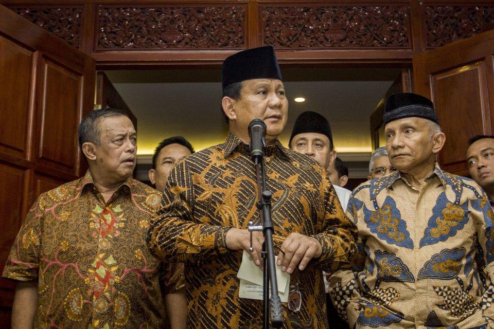 syarat politik prabowo untuk koalisi dengan Jokowi