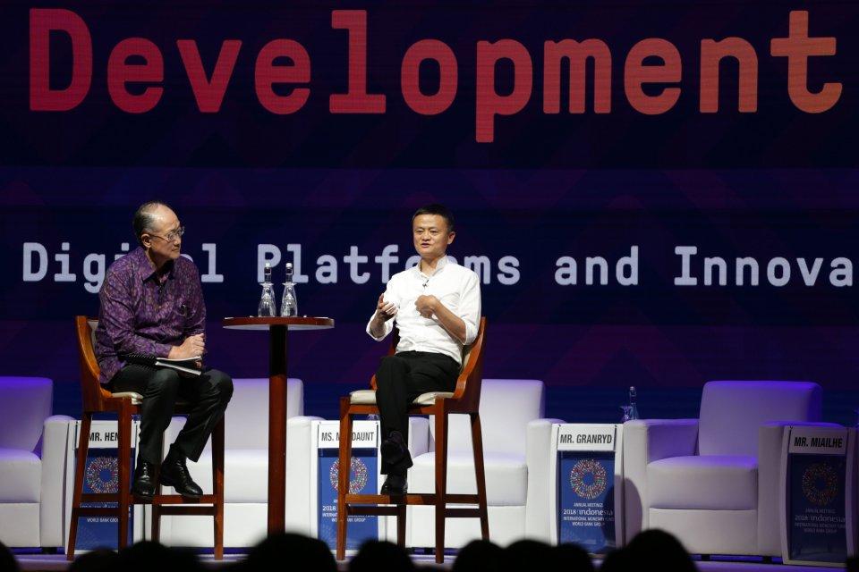 Jack Ma IMF-WB