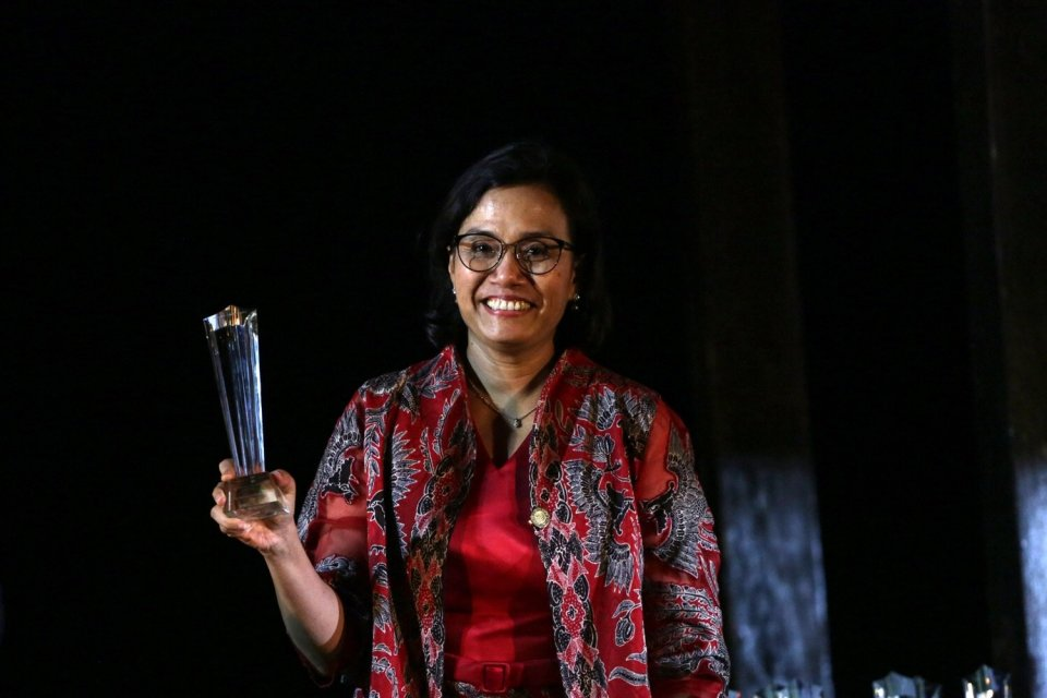 Market Global Award Menkeu Sri Mulyani