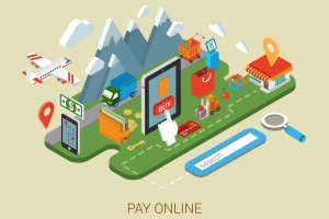 online web site shopping internet process-telaah