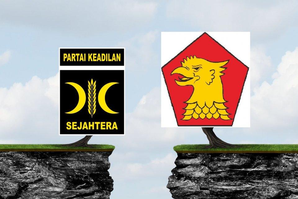 Separation PKS-Gerindra-Telaah