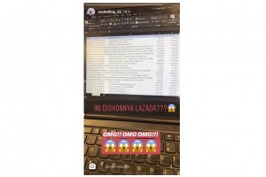 Screenshot Harga Promo Lazada 11.11