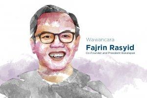 Co-Founder & President Bukalapak Fajrin Rasyid