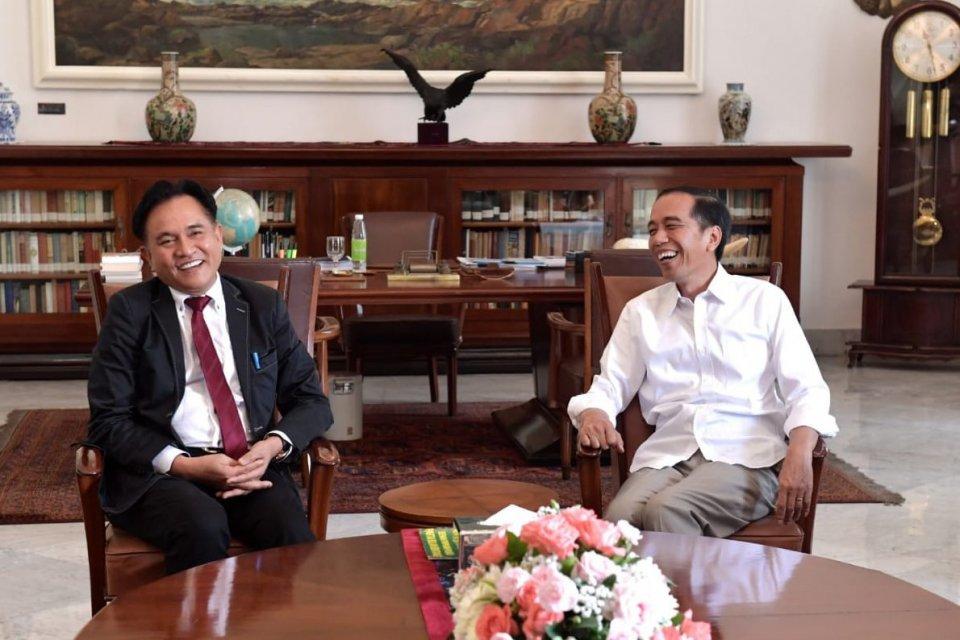 Yusril-Jokowi