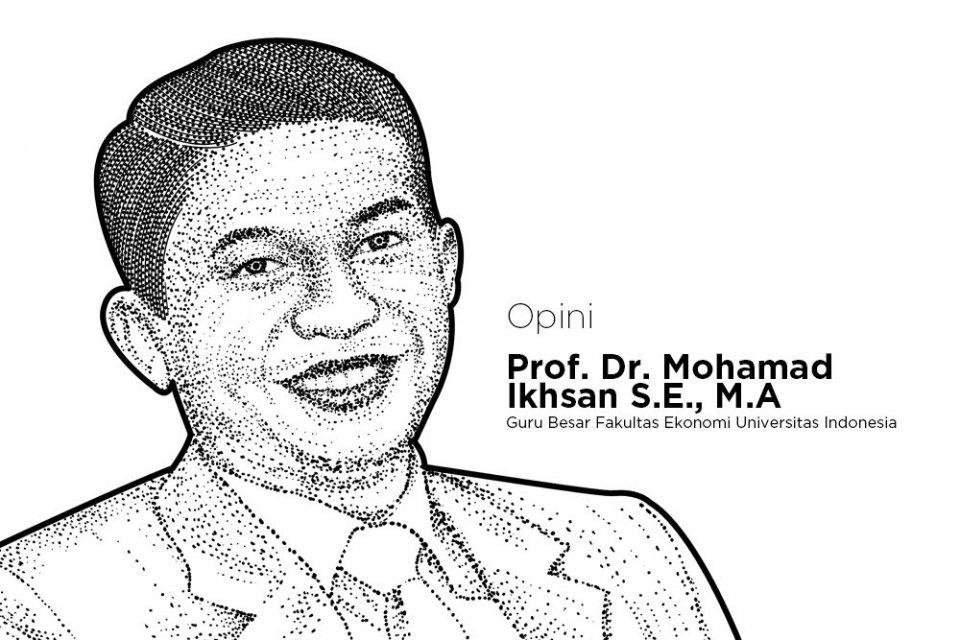 Guru Besar Fakultas Ekonomi Universitas Indonesia Mohamad Ikhsan