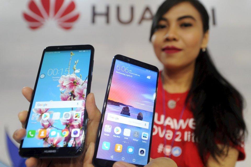 perang dagang, dampak perang dagang, Huawei, Samsung