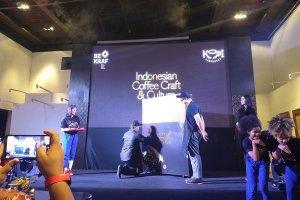 Peluncuran Buku Promosi tentang Kopi Indonesia