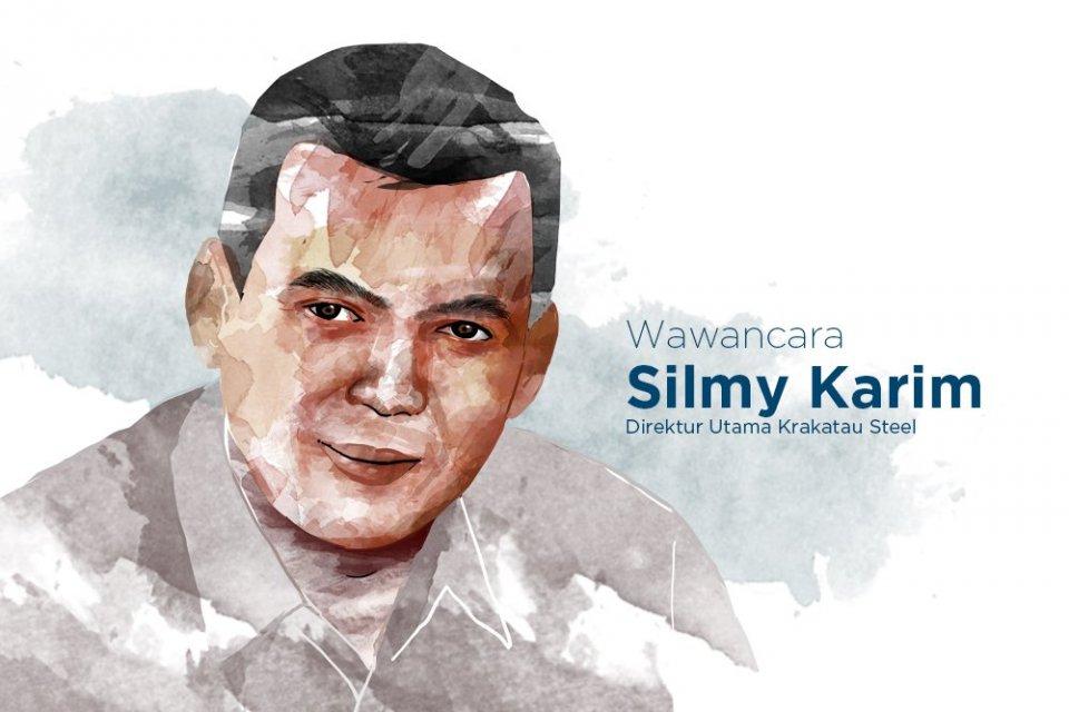 Direktur Utama Krakatau Steel Silmy Karim