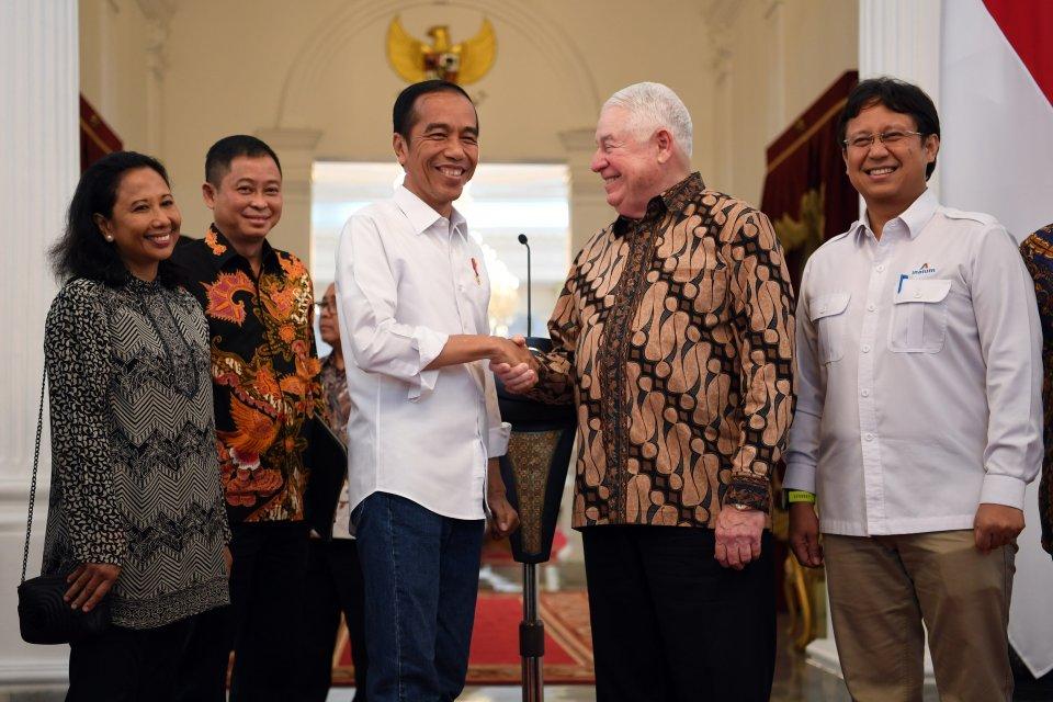 Jokowi, Freeport, pertambangan.