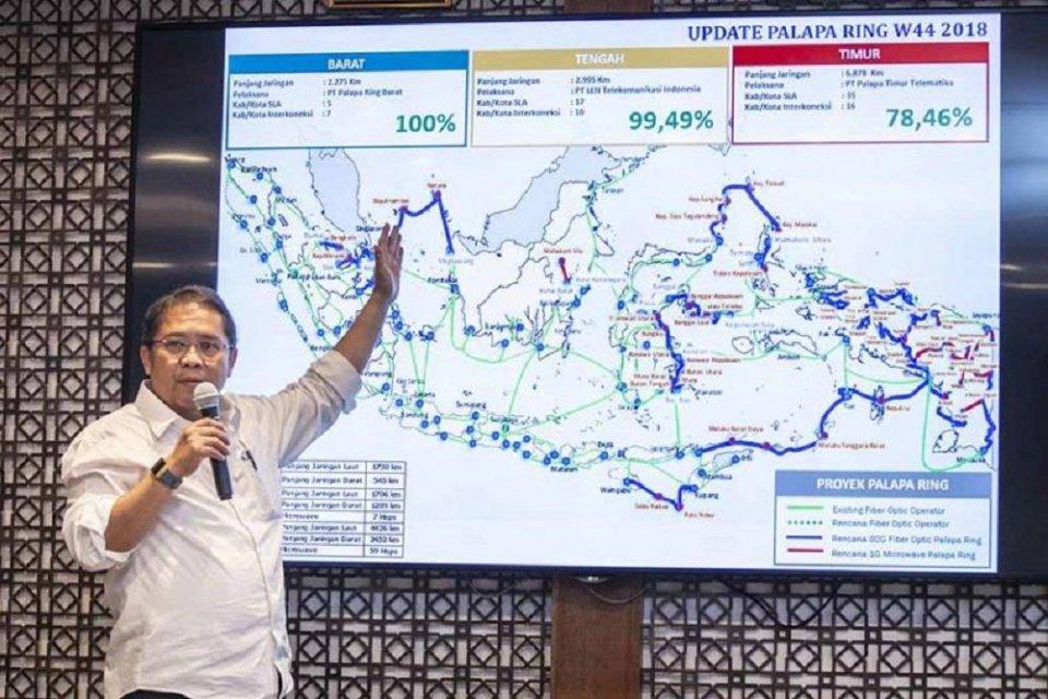 Pemprov Papua Barat mengeluh layanan internet belum merata meski sudah ada Palapa Ring