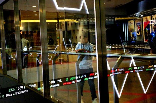 Suasana Bursa Efek Indonesia