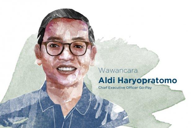 CEO Go-Pay Aldi Haryopratomo