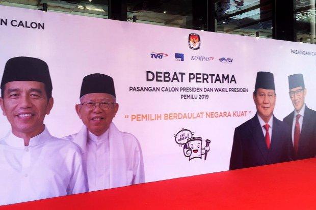 Persiapan Debat Pertama Pilpres 2019