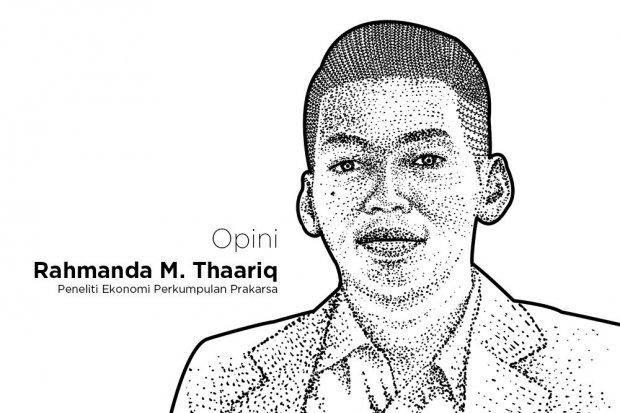 Peneliti Ekonomi Perkumpulan Prakarsa Rahmanda M. Thaariq