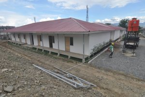 Hunian sementara di Palu, Sulawesi Tengah