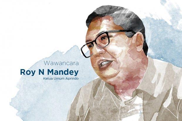 Ketua Umum Asosiasi Pengusaha Ritel Indonesia (Aprindo) Roy N Mandey