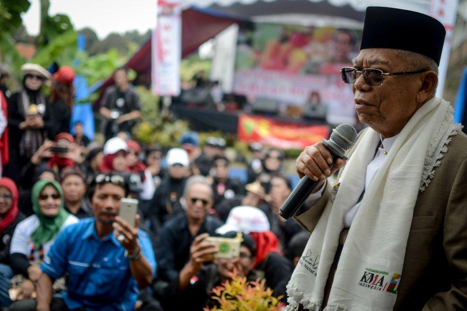 Calon Wakil Presiden Ma'ruf Amin
