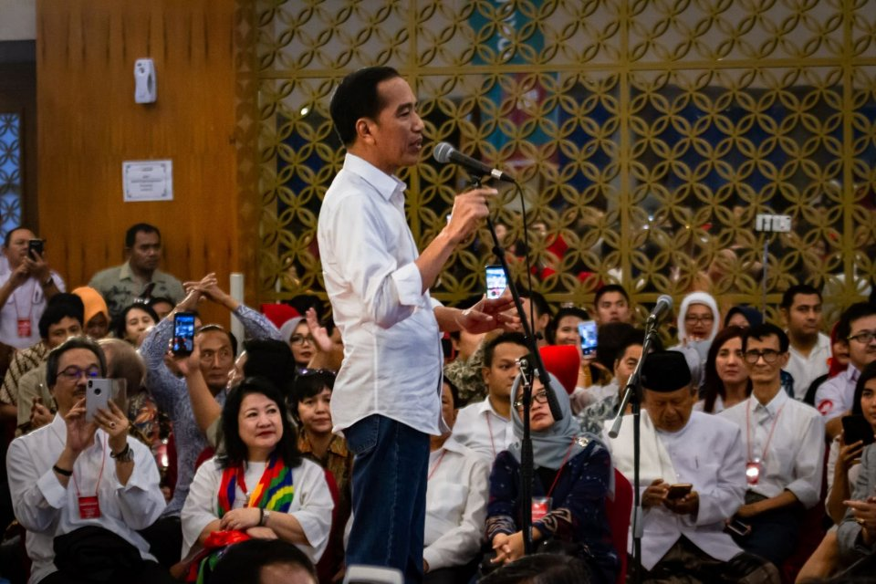 Joko Widodo di Semarang
