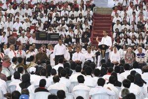 Presiden Joko Widodo silaturahmi dengan para penyuluh pertanian