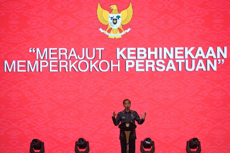 Presiden Joko Widodo di Perayaan Imlek Nasional