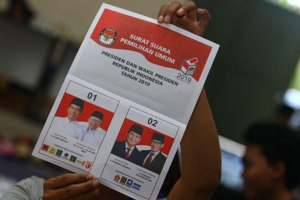 Pilpres 2019, KPU, Jokowi-Ma'ruf, Prabowo-Sandiaga
