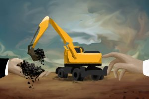 Ilustrasi Maraknya pungutan liar di sektor tambang batu bara.