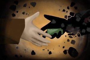 Ilustrasi Jalan terjal menangguk pajak batu bara