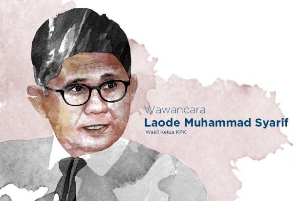 Wakil Ketua KPK Laode M.Syarif