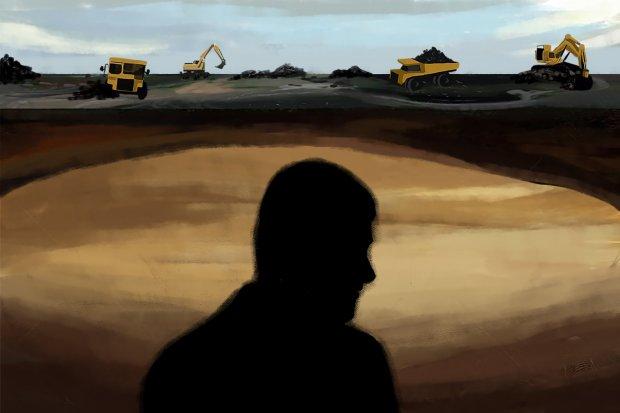 Ilustrasi bisnis batu bara