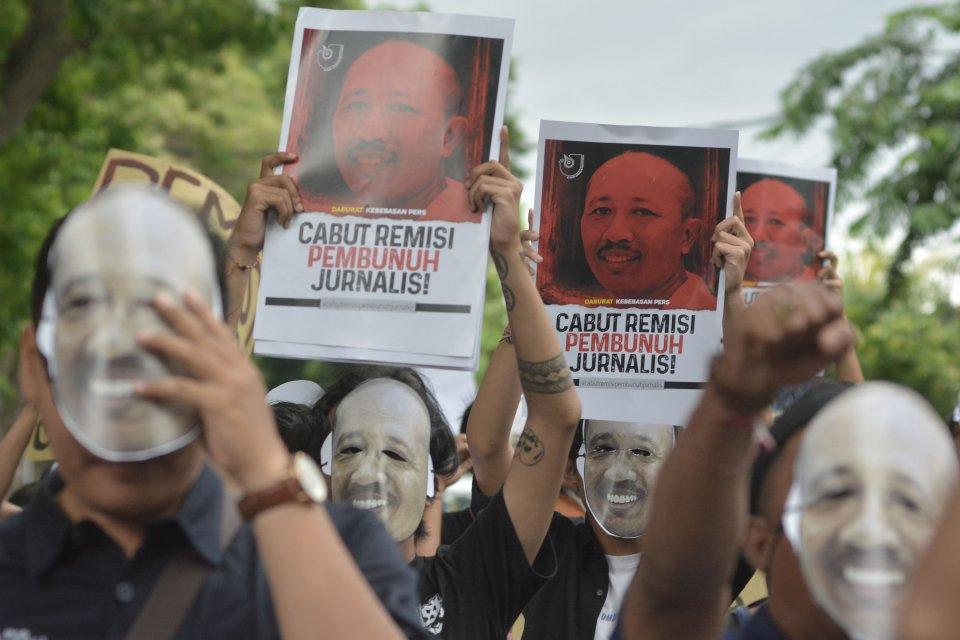 Aksi penolakan pemberian remisi untuk Susrama