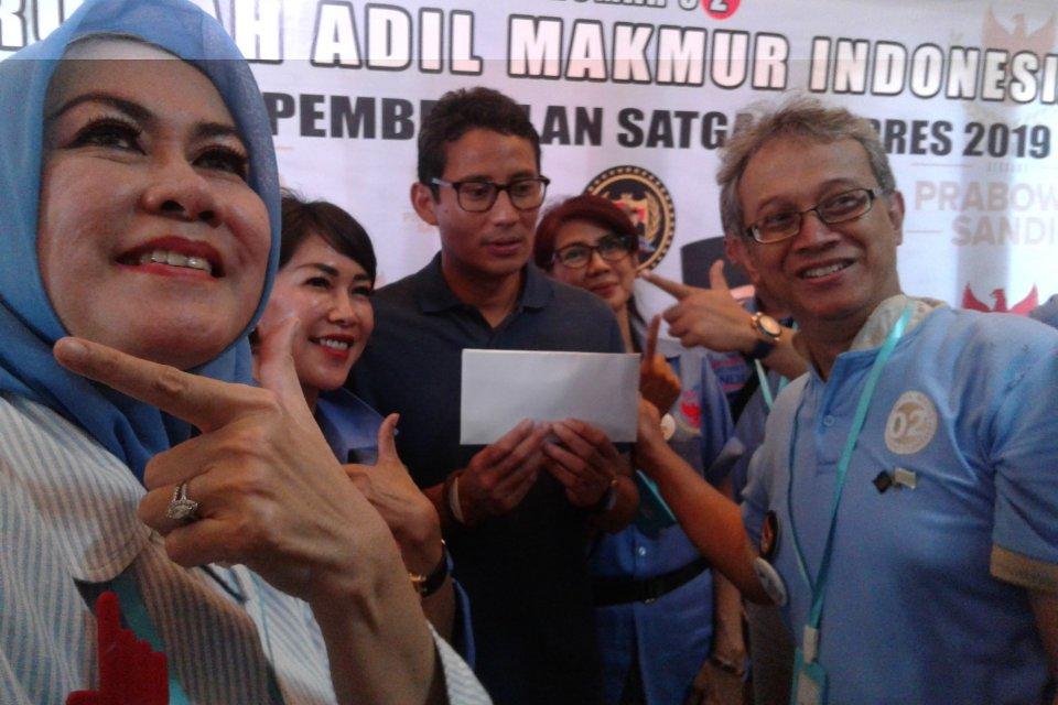 Prabowo-Sandi mendapat dukungan masyarakat berpendidikan tinggi
