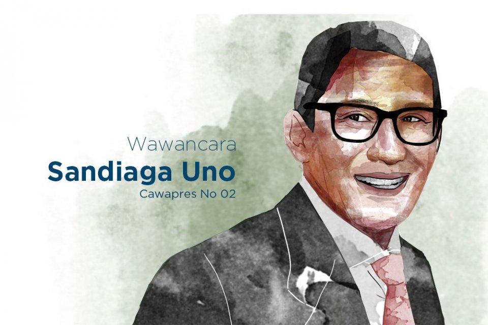 Cawapres 2019 Sandiaga Uno