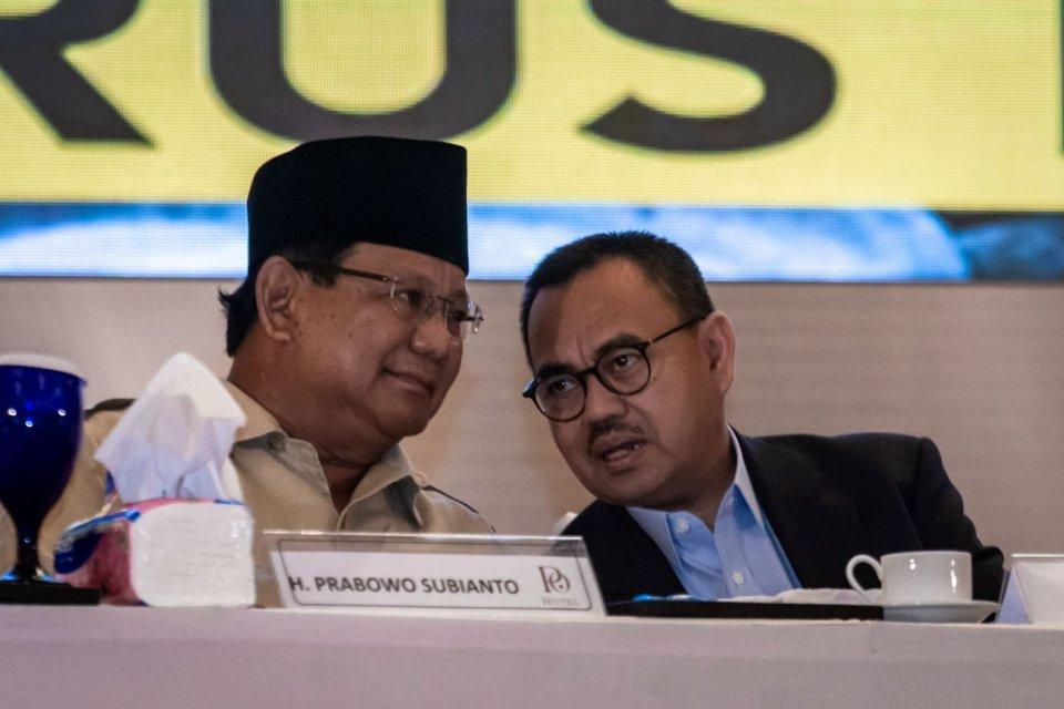 Prabowo Subianto dan Sudirman Said