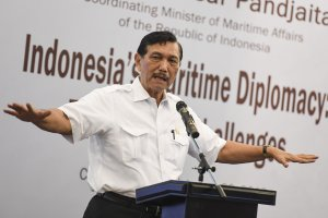 Menteri Koordinator Bidang Maritim Luhut Binsar Pandjaitan