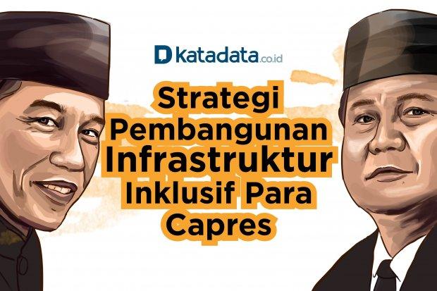 Strategi Pembangunan Infrastruktur Inklusif Para Capres