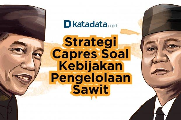 Strategi Capres Soal Kebijakan Pengelolaan Sawit