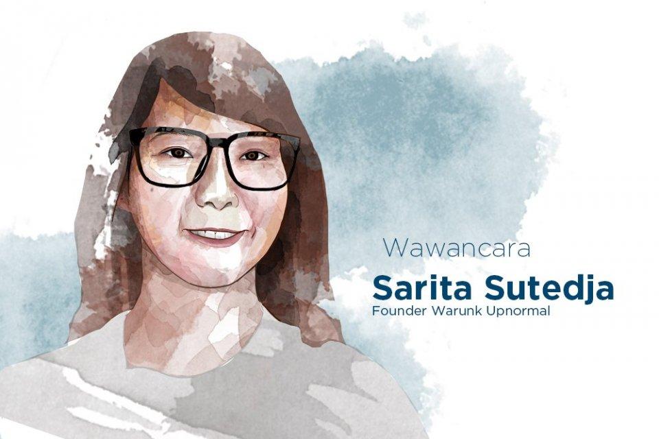 Sarita Sutedja, Founder Warunk Upnormal